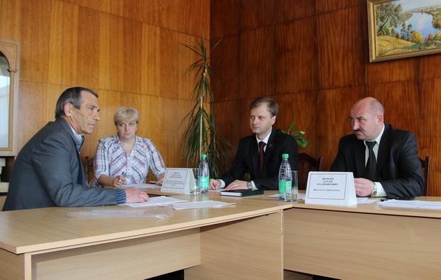 Совместный прием граждан в Рогачевском райисполкоме