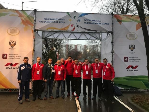 Парламентская делегация Республики Беларусь на VIII Международных парламентских играх в Москве