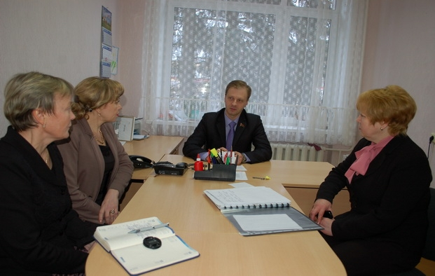 Прием граждан в Кормянском райисполкоме