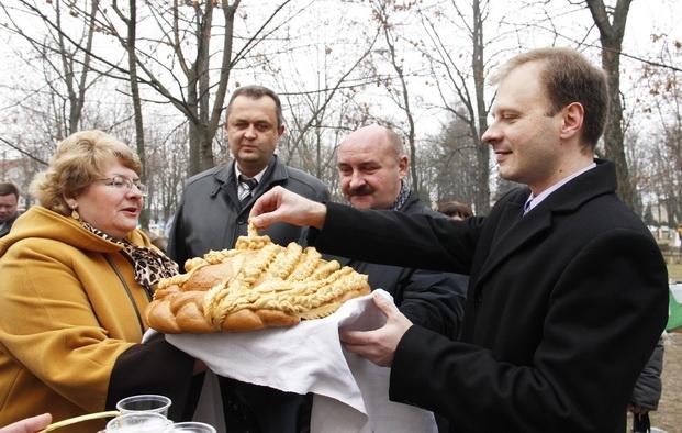 Районные дожинки в Рогачеве