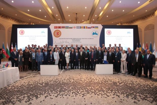 Пленарное заседания 49 Генеральной Ассамблеи ПАЧЭС в Стамбуле