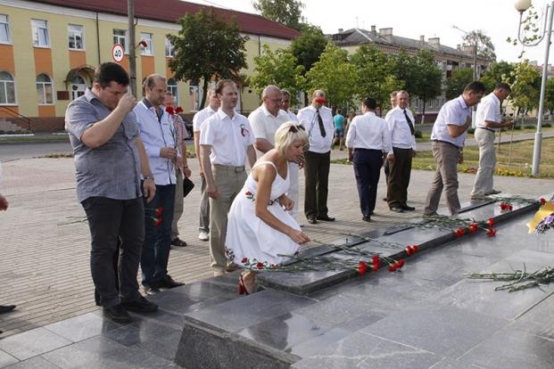 Рогачев. День Независимости.3 июля 2016 года.