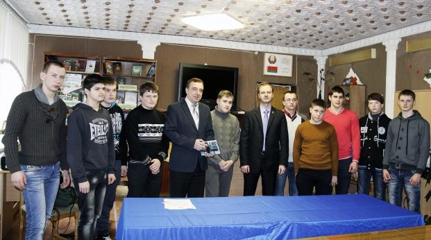 Встреча с учащимися Рогачевского государственного профессионально-технического колледжа строителей