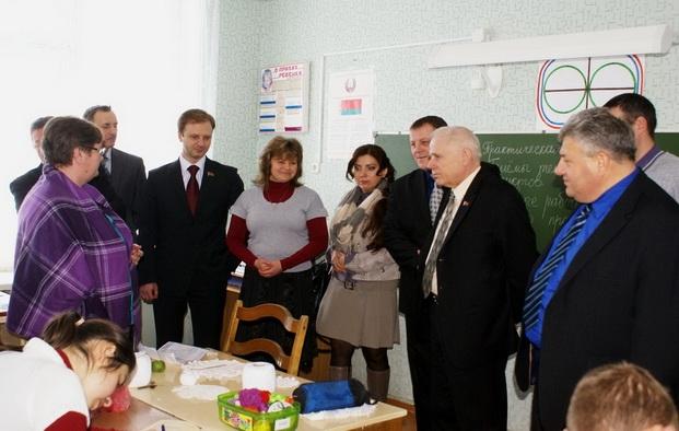 Посещение Городецкой вспомогательной школы-интерната