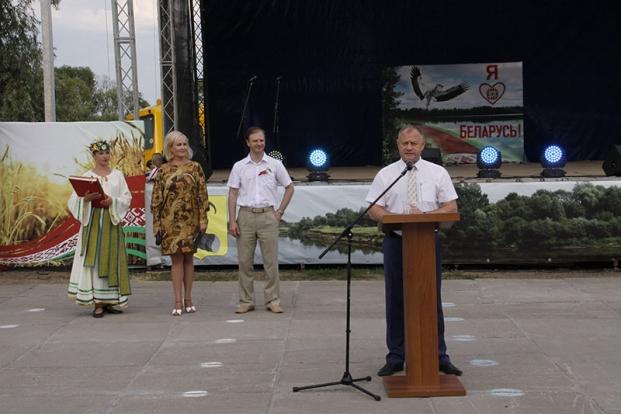 Поздравление рогачевцев с Днем Независимости. 3 июля 2016 года