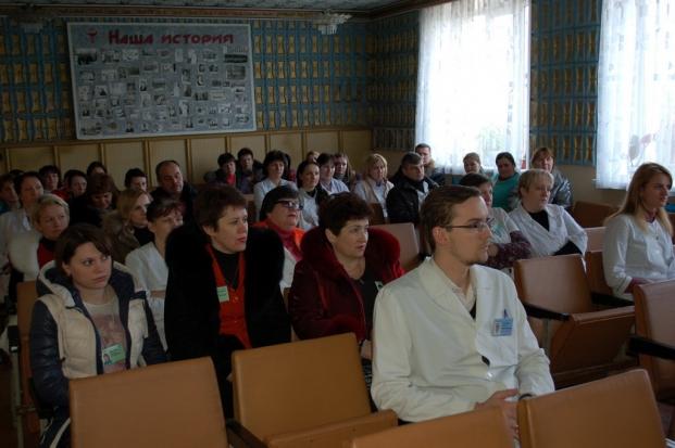 Встреча с коллективом Кормянской ЦРБ