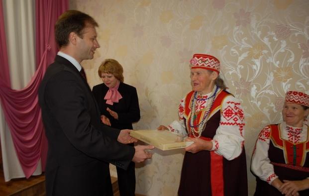 В Кормянском центре социального обслуживания населения